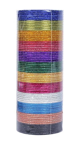 MUCH-MORE Bollywood Fashion Mat Indian Bangles Box Party wear Bangles Traditional Jewelry (93, 2.10)