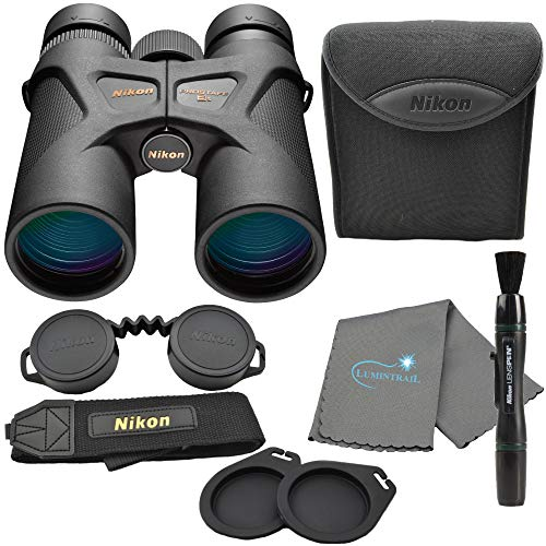Nikon Prostaff 3S 8x42 Binoculars (16030) Bundle with a Nikon Lens Pen and Lumintrail Cleaning Cloth