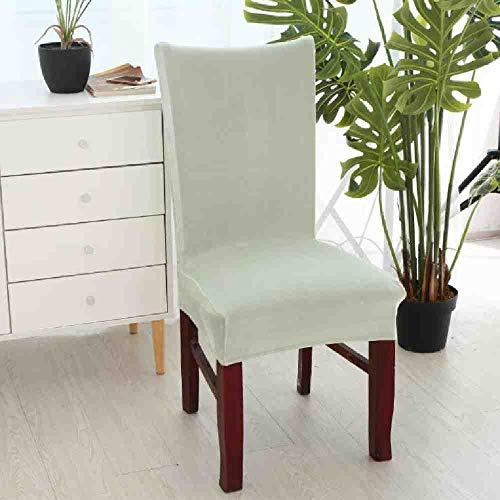 BJDKF Stoelhoes, afneembaar fluweel, stoelbekleding, eetkamer, elastische stoelbekleding, stretch, stoelbekleding, spandex, voor banketten, tuinstoel P