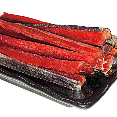 鮮度の鬼 北海道産 天然 鮭とば 400g チャック付き 袋入り おつまみ