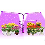 Grow Lights, 60W Triple Head Plant Grow Lights Full Spectrum Plant Grow Lamp with 9 Dimmable Level & 3/9/12H Timer Plant Grow Lights Bulb for Indoor Plant