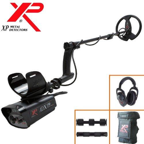 Xp Metal Detectors - Detecteur De Metaux Adx 150 - Frequence 4,6 Khz - Disque 22,5 Cm Dd Avec Protege Disque - Reglages Par Potentiometres - Identification Sonore Mono-Ton - Casque Sans Fil Ws3