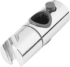 25mmABSクローム交換用シャワーヘッドレールスライダーホルダー調節可能なライザーブラケットラックスライドバーバスルーム蛇口アクセサリー