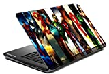 Paper Plane Design Laptop Skin Cover for All Makes and Models with Hard Disk Skin