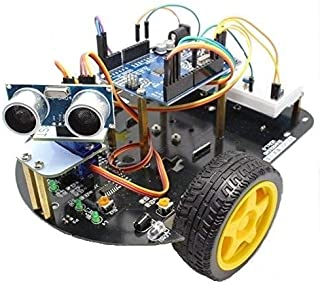 DIY Arduino Obstacle Avoiding Smart Robot Car Kit