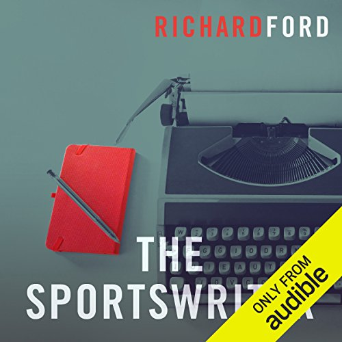 The Sportswriter audiobook cover art