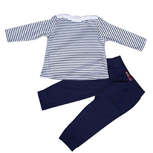 Finger's Finger's Baby Mädchen (0-24 Monate) Schlafanzugoverteil blau blau Gr. 56, blau