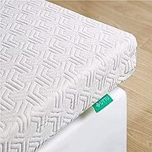 UTTU Mattress Topper Queen, 3-Inch Memory Foam Mattress Topper, Dual-Layer Cooling Bed Topper, Red Respira Foam Firm Topper, Soft Washable Cover, CertiPUR-US (Queen Size)
