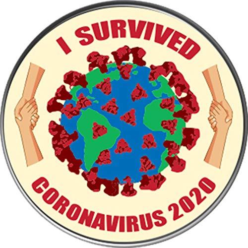 Corona Survive, COVID-19, CORONAVIRUS Lapel Pin