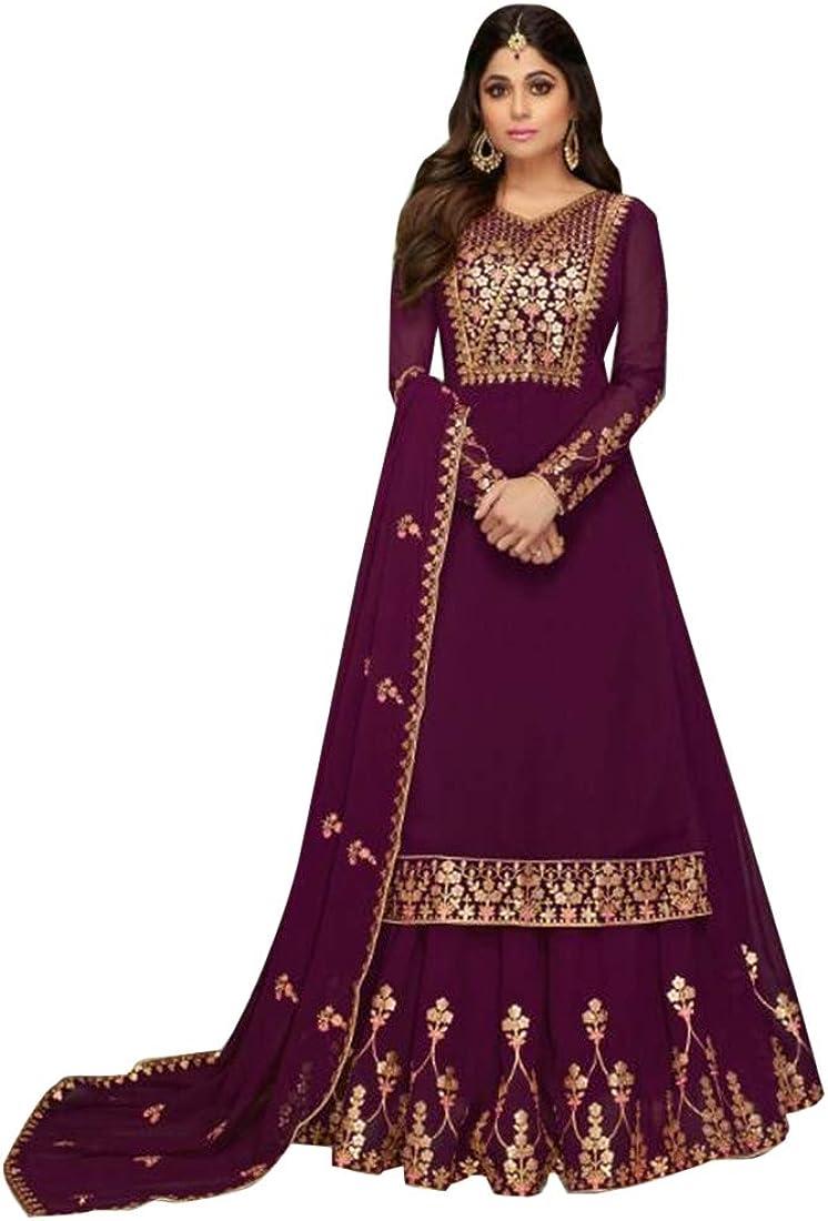 Purple Outlet ☆ Free Shipping Ready to Wear Indian Salwar Ethnic Lehenga Kameez Super-cheap Muslim