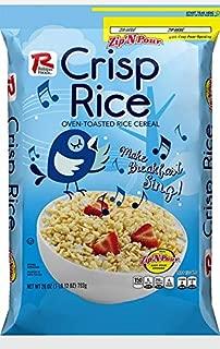 Ralston Foods Crispy Rice Cereal, 28 Ounce -- 4 per case.