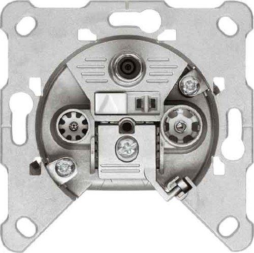 Hirschmann EDA 302 F 3-Fach Antennen-Einzeldose SAT/BK (3 dB)