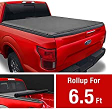 MaxMate Soft Roll Up Truck Bed Tonneau Cover for 2009-2014 Ford F-150 | Styleside 6.5' Bed