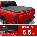 MaxMate Soft Roll Up Truck Bed Tonneau Cover Compatible with 2015-2020 Ford F-150 | Styleside 6.5' Bed