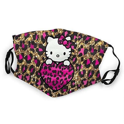 Bunter Hello Kitty Mundschutz Anti-Staub waschbar Wiederverwendbarer Mundschutz Modedesign für Kinder Jungen Mädchen Teenager