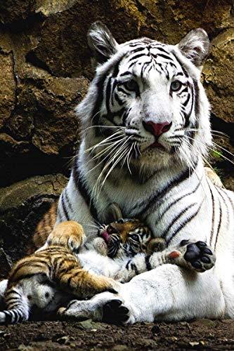 Puzzle de Tigre de Bengala para Adultos, 1000 Piezas, Desarrollo Intelectual, Arte, Regalo Educativo, hogar, Interesante, descompresión, desafío Cerebral