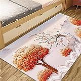 Alfombra Gaming Suelo Rosa cuadros decoracion salon grandes Elk pattern, moderno, minimalista, ligero, de lujo, para sala de estar, alfombra, alfombras para el piso del dormitorio, se pueden lavar y p