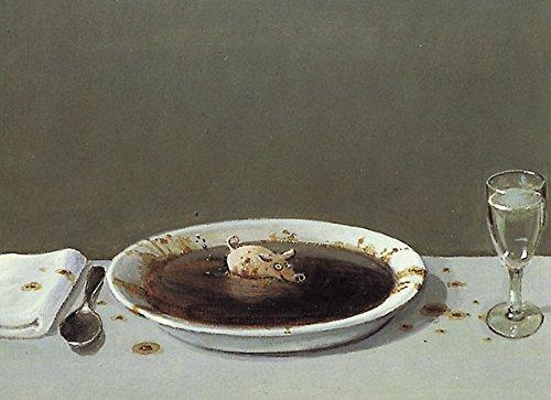Postkarte A6 • 5103 ''Suppenschwein'' von Inkognito • Künstler: Michael Sowa • Satire • Fantastik