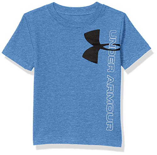 Under Armour Boys' Toddler Fashion Ss Tee Shirt, Water-SP202, 2T