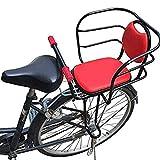 GWSPORT Asiento de Bicicleta para Niños Trasero, Silla de Bicicleta para Niños con Asa y Pedal para Bicicleta de Montaña Trasera Seguridad Asiento de Bebé para Bicicleta para Niños de 2,5 a 8 Años