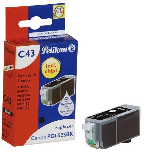 Pelikan C43 Druckerpatrone (ersetzt Canon PGI-525PGBK) schwarz