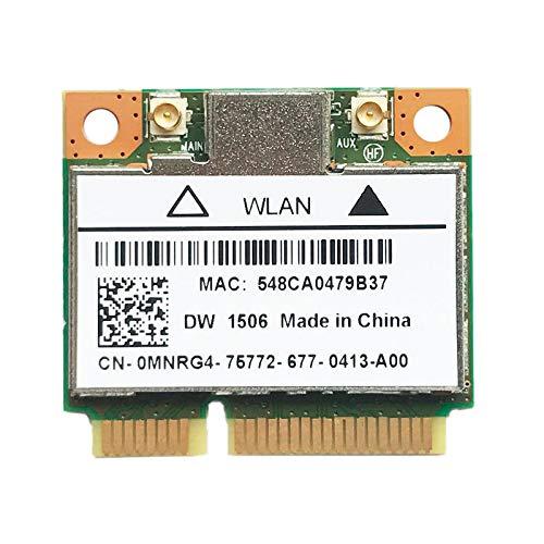 SNOWINSPRING DW1506 AR5B125 -PCI-E WLAN Karte 802.11B / G/N WLAN Modul für Laptops
