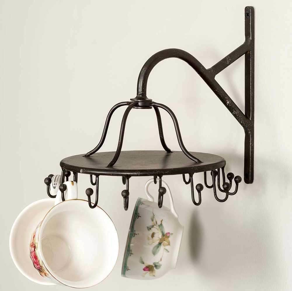 16 Hook Wall Rack - for Mugs Misc Dish Ho Kitchen Tools or Decor All items free Super intense SALE shipping