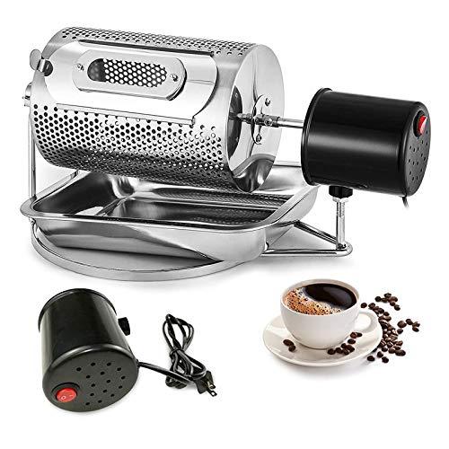 HAGENGOO Kaffeeröster 250 G Kaffeebohnen Röstmaschine Haushaltsbackmaschine Kaffeebohnen Home Edelstahlröster Kaffeeröster