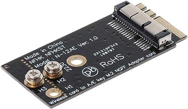 HOWWOH BCM94360CS2 BCM943224 PieceIEBT2 A/E Key NGFF M.2 Adapter Card Module 12+6 Pin Wireless WiFi Speed