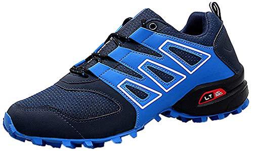 CAGAYA Zapatillas de Senderismo Hombre Trekking Zapatillas Antideslizante Aire Libre Calzado Deportivo Zapatillas de Trail Running Hombre