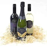 Award Winning Cornish Wine Trio, Premium Triple Wine Presentation Box