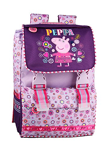 Peppa Pig Deluxe Taille Moyenne Sac à dos Sac à dos Filles Violet
