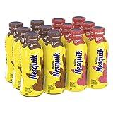 NesQuik Protein Chocolate & Strawberry Milk, 14 Fl Oz ()