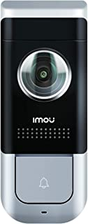 Imou Wi-Fi Video Doorbell Wired, Black