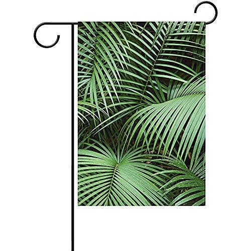 Annays Yard Vlag Tropische Plant Perfect Yard Tuin Binnen Outdoor Decoratie Dubbele Zijde Tuin Vlag 32X48Cm