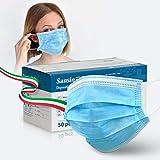 Riceverete una confezione sigillata da 50 maschere mediche a 3 strati. Mantenere le vie respiratorie al sicuro da sostanze inquinanti e allergeni per aiutarti a respirare più facilmente e a rimanere senza germi. Queste maschere per il viso sono di ta...