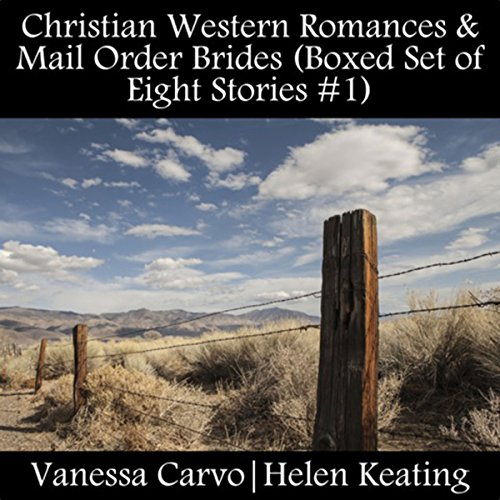 Christian Western Romances & Mail Order Brides (Boxed Set of Eight Stories #1) audiobook cover art