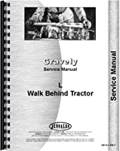 Gravely L Walk Behind Tractor Service Manual