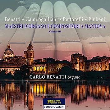 Maestri d'organo e compositori a Mantova , Vol. 3