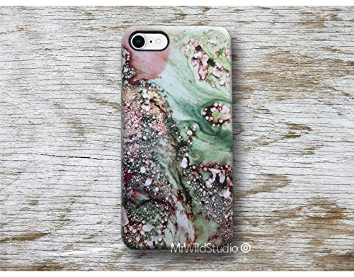 Grün Marmor Hülle Handyhülle für OnePlus 1+ 1 + 8 Pro 7 7t Pro 6 6T 5 3 2 LG G8 G7 G6 G5 G4 G3 LG V40 V50 ThinQ Stylo 5 Case Cover