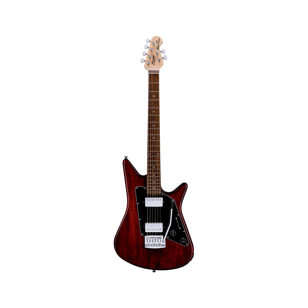 Cheap Sterling By MusicMan 6 String Solid-Body Electric Guitar Right Trans Walnut (AL40-TW-R1) Black Friday & Cyber Monday 2019