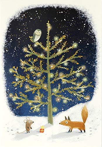 Winter Tails Small Boxed Holiday Cards (Christmas Cards, Greeting Cards)