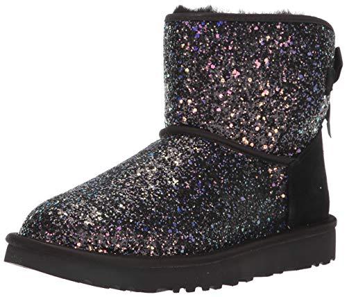 UGG Damen Boots Classic Mini Bow Cosmos 1107073 Black 38