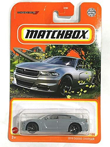 Matchbox 2018 Dodge Charger 55/100 Gray
