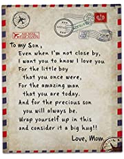 Nederlandse letters Blanket,Aan mijn dochter van moeder deken 150x200cm /60 * 78 inch, Flanel deken geschenken voor de slaapkamer