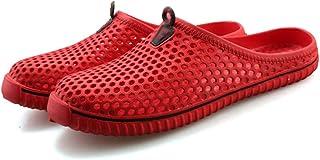 FDSVCSXV Unisex Garden Clogs Shoes Slippers Sandals, Lightweight Quick-Dry Mesh Beach Pool Non-Slip Shoes Women Men for In...