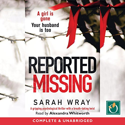 Reported Missing audiobook cover art