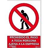 Normaluz RD40019 - Señal Prohibido El Paso A Toda...