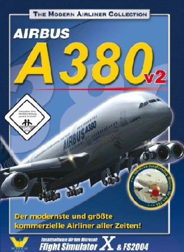 Wilco Airbus A380 v2 (Add-On für MS Flight Simulator X + FS2004)
