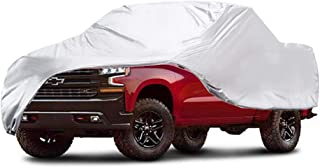 GunHyi Pickup Truck Cover Waterproof All Weather, 6 Layer Heavy Duty Cover with Cotton, Outdoor Dust Sun Rain UV Snow Protection, Universal Up to 248 inch